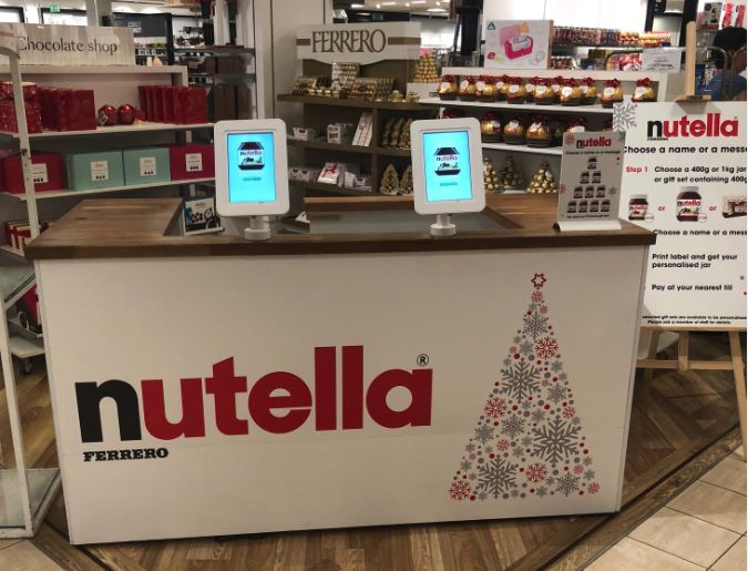 Nutella Personalisation Tablets