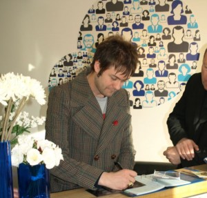 Tom Meighan visits Three Point Design