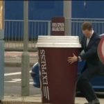 Costa Express Giant Coffee Cup