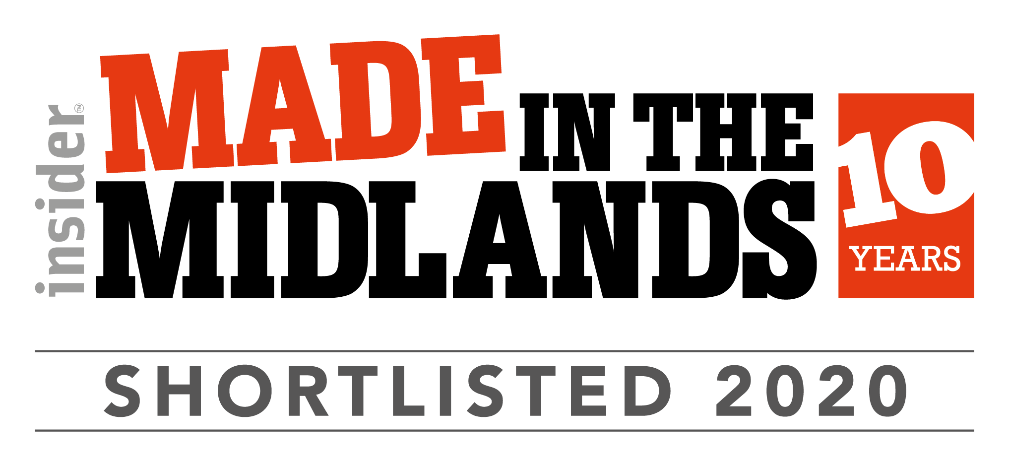 Made in the Midlands Shortlist