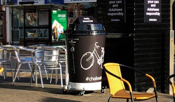 giant chaiiwala coffee cup