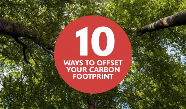 10 ways to offset carbon footprint